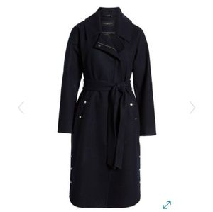 NWT Marc New York Wool Blend trench coat